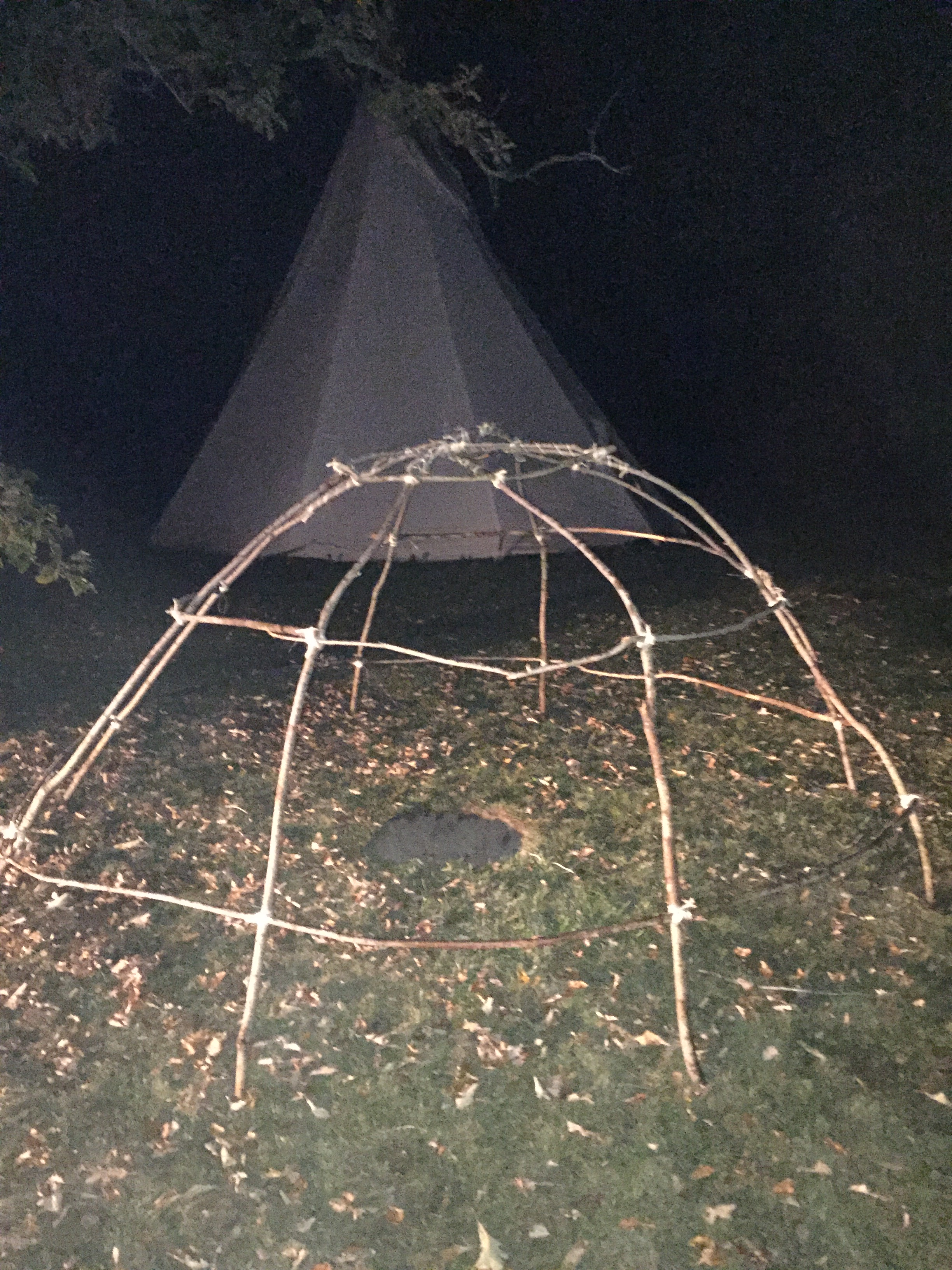 sweat lodge frame 2