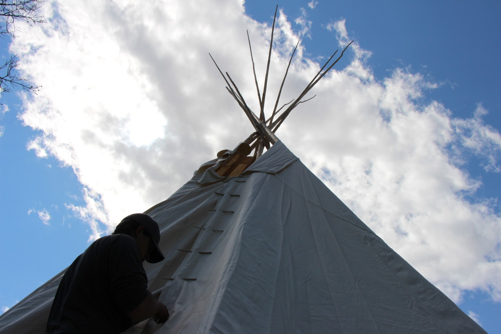 more tipi construction