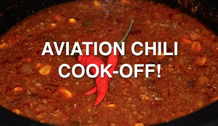 aviation chili cook-off
