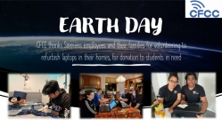 Earth Day 2021 CFCC SIEMENS Virtual Laptop Donation Workshop